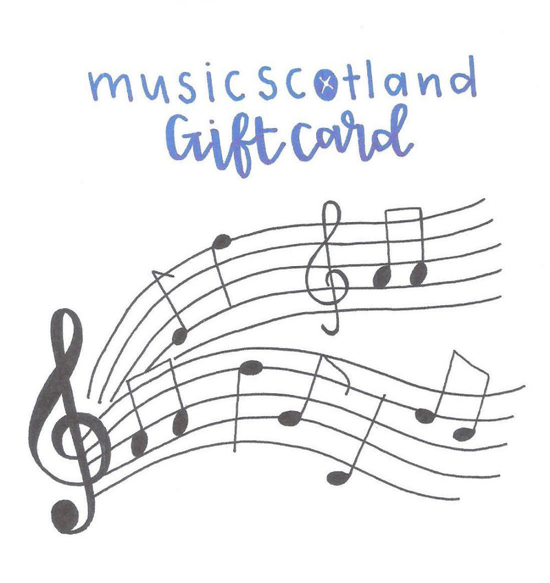 Music Scotland Gift Card