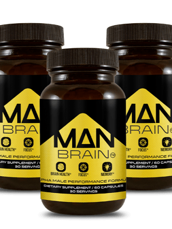 3 Bottles of Man Brain