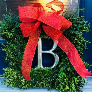 Load image into Gallery viewer, Square Boxwood Wreath