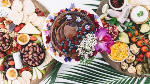 Berries and Cacao are great foods to boost your mood