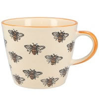 Bee design ceramic mug