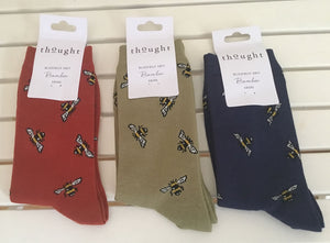 3 pairs of ladies bamboo socks. Bee design