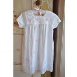 Girl's cotton nightdress