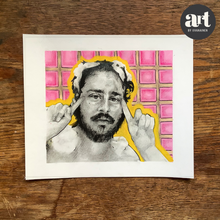 Load image into Gallery viewer, Portrait of a Comedian (Alan Resnick)
