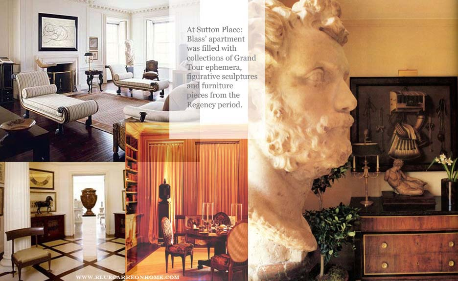 At Home With Bill Blass