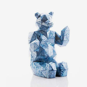 Facet Bear Sculpture