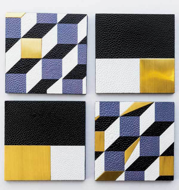 Milan Deconstructed Cube Coasters