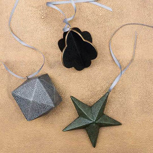 Holiday Ornaments - Shagreen