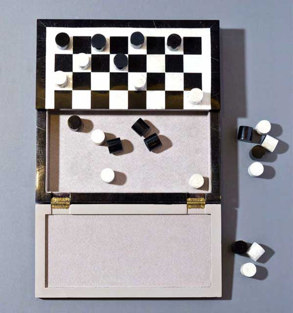 Maison Bijoux Checkers Set
