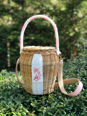 Wicker Bucket Bags