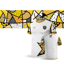 Load image into Gallery viewer, Palm Beach Stars by Britto Limited Edition - STAR White Jersey - Dry Fit Polyester