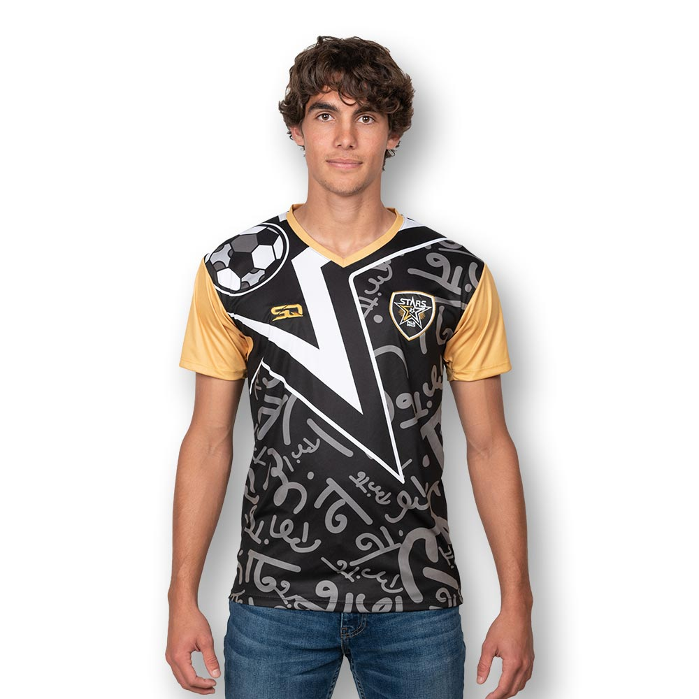 Palm Beach Stars by Britto Limited Edition - SIGNATURE Black Jersey - Dry Fit Polyester