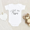 Cute I Love My Mommy Onesie® - Mommy Baby Clothes - Mommy Baby Onesie®