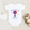 4th Of July Onesie - My First 4th Of July Boy Onesie - Cute Personalized Fourth Of July Onesie