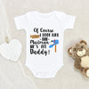 Funny Mailman Onesie® - Of Course I Look Like The Mailman Onesie® - Cute Father's Day Onesie® - Funny Daddy Onesie®