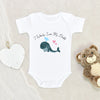 Cute Father's Day Onesie - I Whaley Love My Daddy Onesie - Cute Father's Day Baby Clothes - Funny Father's Day Onesie