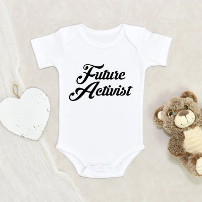 Civil Rights Onesie® - Future Activist Baby Onesie® - Human Rights Activist Onesie® - Empowerment Baby Clothes - Black Lives Matter Onesie®