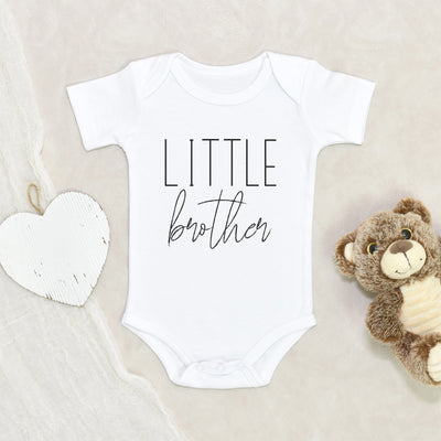 Cute Little Brother Baby Onesie - Little Brother Onesie - Little Brother Baby Onesie - Little Brother Clothes