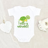 Turtle Baby Onesie - Cute Turtle Baby Onesie - Turtley Adorable Onesie