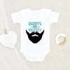 Father's Day Onesie® - Father's Day Gift - Daddy's Little Beard Puller Baby Onesie® - Funny Baby Clothes - Daddy Onesie®
