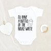 I'll Have A Bottle Of The House White Onesie® - Funny Baby Clothes - Unisex Baby Onesie® - Funny Baby Onesie® - Breastfeeding Onesie® - Baby Onesie® - Funny Onesie®
