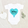 Name Announcement Custom Onesie® - Baby's Name And Birthday Onesie® - Newborn Personalization Onesie® - Pregnancy Reveal Onesie®