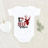 Deer Season Plaid Baby Onesie® - My 1st Deer Season Onesie® - Deer Hunting Baby Onesie®