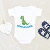 Brother Baby Clothes - Brothersaurus Dinosaur Onesie® - Brother Baby Onesie®