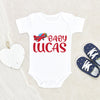 Baby Boy Gift - Baby Shower Gift - Personalized baby Onesie - Airplane Zoom Onesie