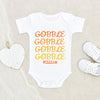 Autumn Baby Clothes - Baby Boy Onesie - Thanksgiving Onesie For Boys & Girls - Thanksgiving Baby Onesie For Fall