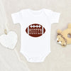 Football Name Baby Onesie® - Personalized Football Onesie® - Football Baby Clothes - Cute Fall Onesie®