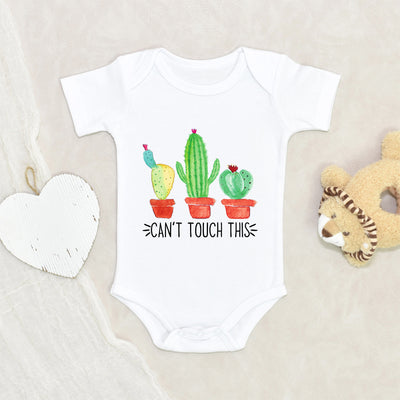 CACTUS Baby Onesie® - Can't Touch This Cactus Onesie® - Cactus Baby Onesie® - Cute Baby Clothes