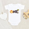 One Year Birthday Clothes Or Onesie® Jungle Theme - First Birthday Jungle Boy Onesie® - Birthday Baby Boy Gift - Animal Onesie®