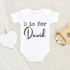 Boy Name Onesie® - Unique Baby Boy Clothes - Personalized Baby Onesie® - Boy Cute Custom Onesie®