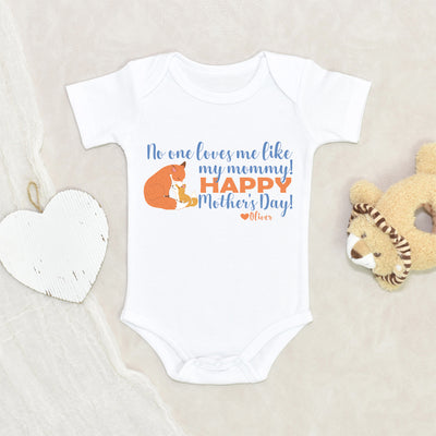 Custom Mother's Day Onesie - Custom Boys Name Onesie - Mother's Day Onesie - Personalized Mother's Day Onesie