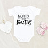 Personalized Girl Onesie - Mommy's Girl Onesie - Mommy Baby Onesie - Funny Girl Onesie - Baby Girl Clothes - Baby Shower Gift
