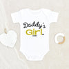 Personalized Baby Onesie - Daddy's Girl Onesie - New Dad Gift - Gift For Dad - Custom Baby Onesie