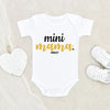 Mommy And Me - Personalized Baby Onesie - Mini Mama Onesie - Newborn Gift - Baby Girl Onesie