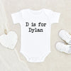 Personalized Baby Onesie - Cute Custom Name Onesie - Girl and Boy Name Onesie - Unique Baby clothes