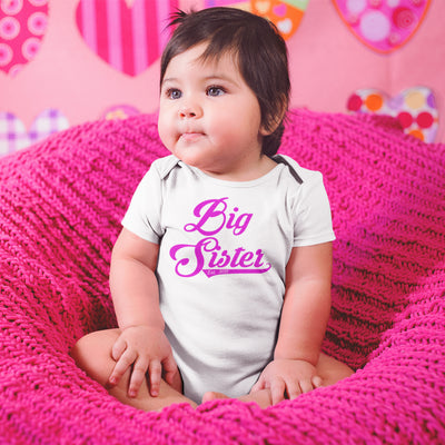 Big Sister Onesie - Big Sister Clothes ,New Big Sister Onesie® - Cute Big Sister Baby Onesie - Personalized Announcement