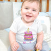 Personalized Girl First Birthday Onesie - Cute Baby Girl Birthday Onesie - One Year Old - Custom 1st Birthday Onesie