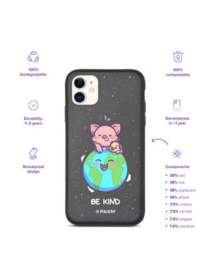 Be Kind Biodegradable iPhone Case