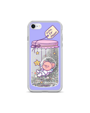 Dare To Dream Glitter iPhone Case