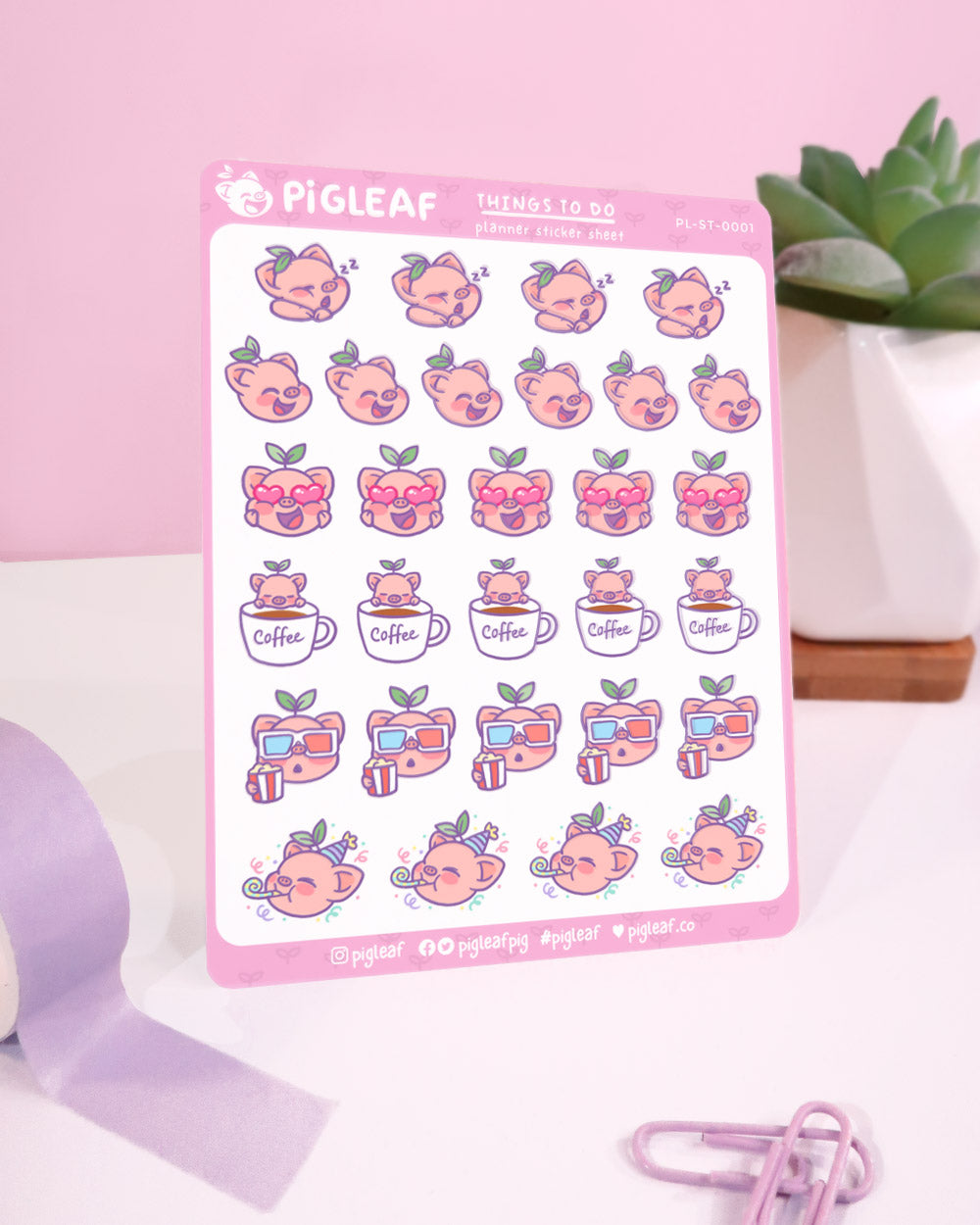 Things to Do Planner Stickers