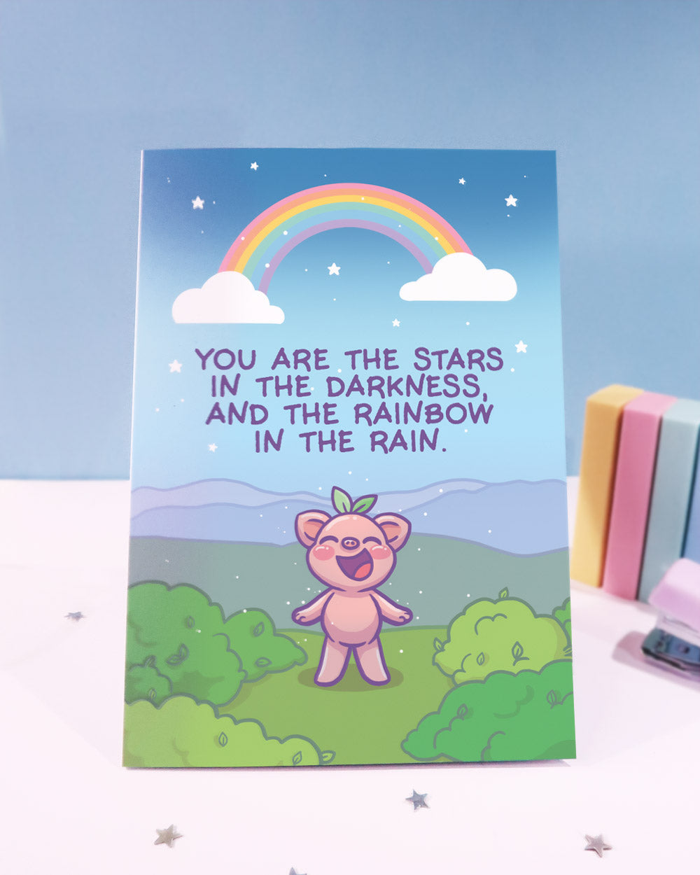 You Are The Stars Greeting Card
