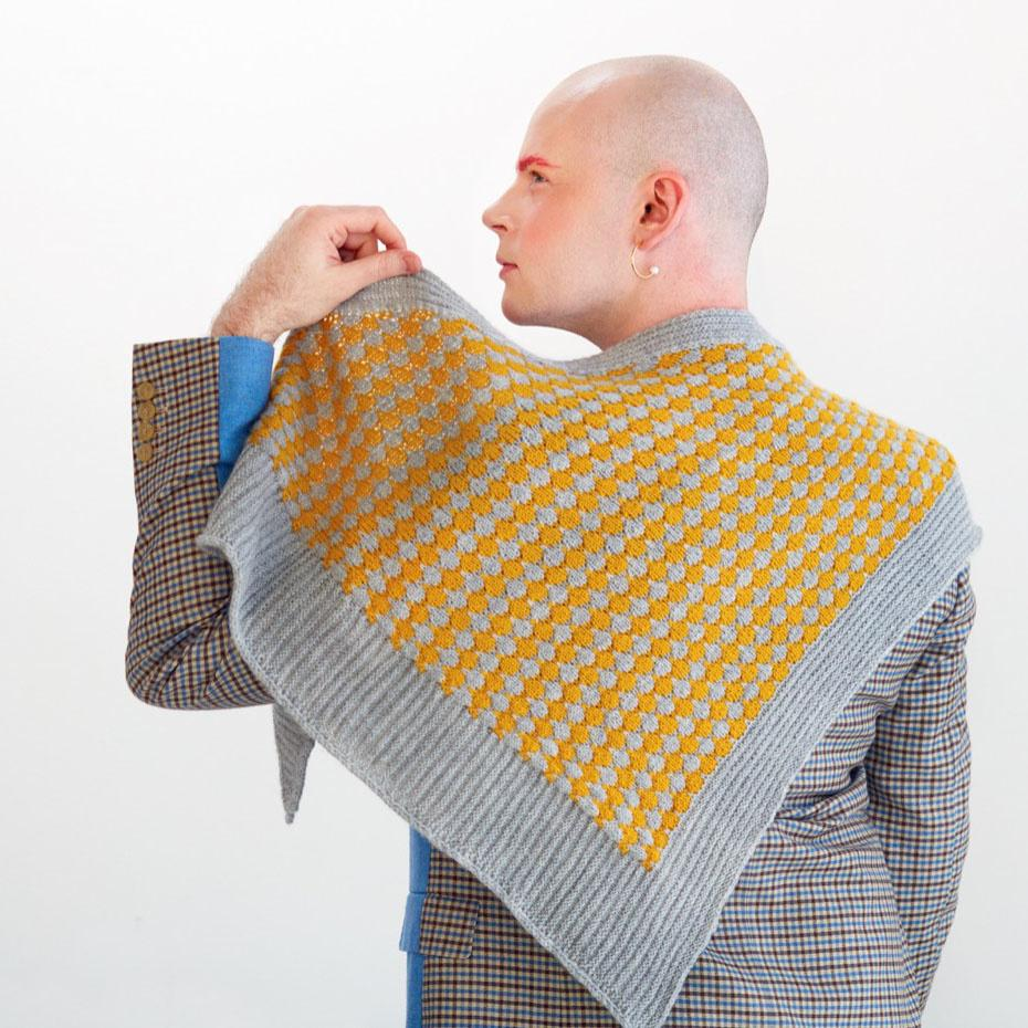 BUBBLE SHAWL - RHEINGOLD