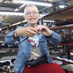 Froggie Brand Manager Sarah Gedye talks about new comfort features