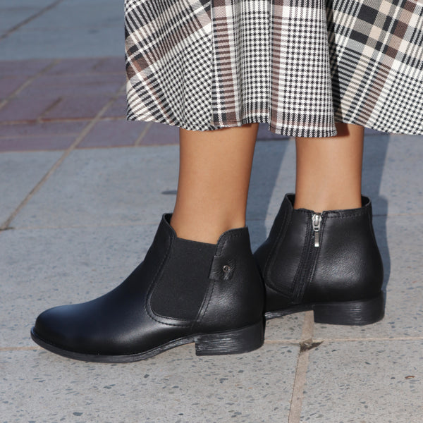 Ankle Boot With Elastic - 11286 - Froggie Shoes