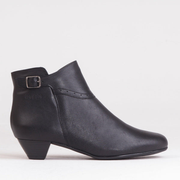 Ankle Boot With Buckle - 11384 - Froggie Shoes