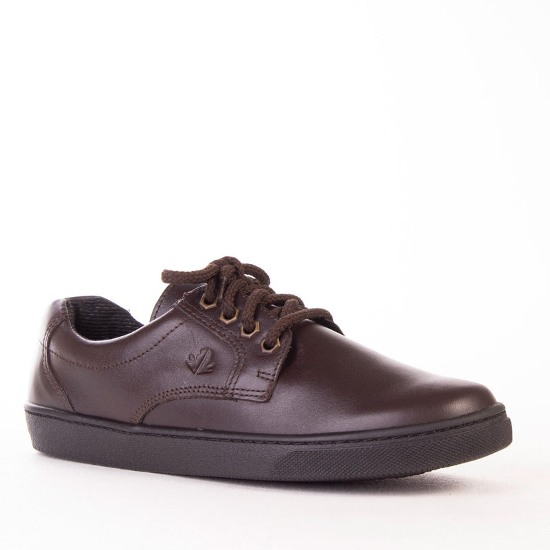 NEW Boys Lace-Up School Shoe 11422 - Froggie Shoes